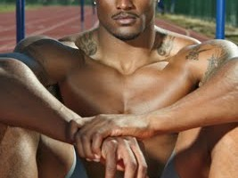 Man Crush of the Day: Hurdler and runner David Oliver