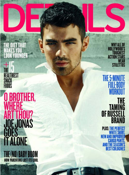 Joe Jonas Details April 2011