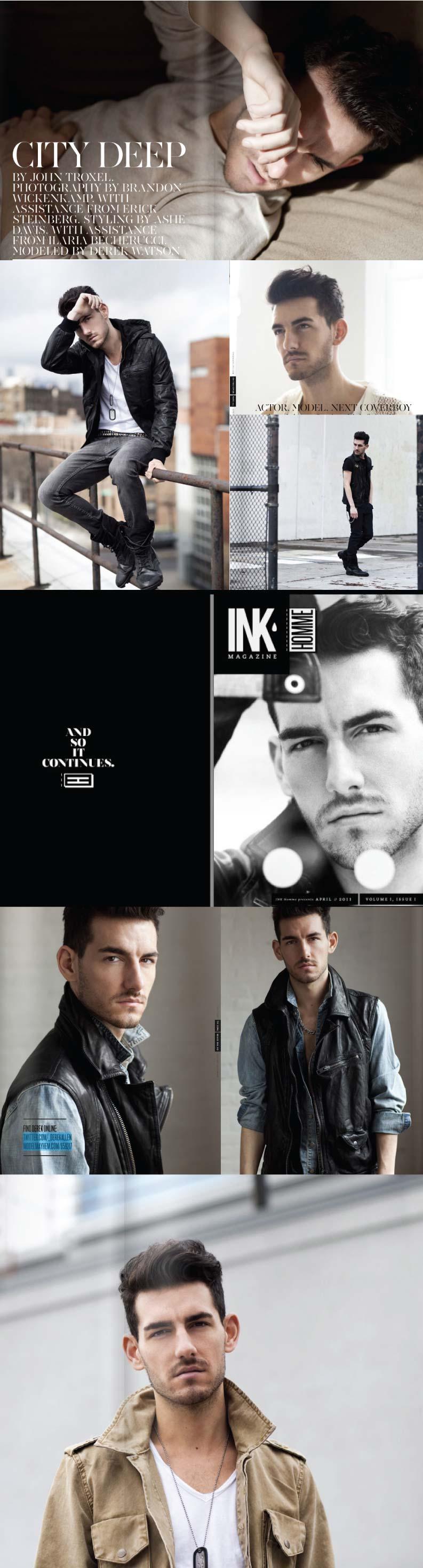 Derek Allen Watson Ink Magazine April 2011