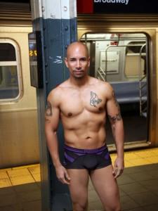 Justin Hernandez Naked in New York City