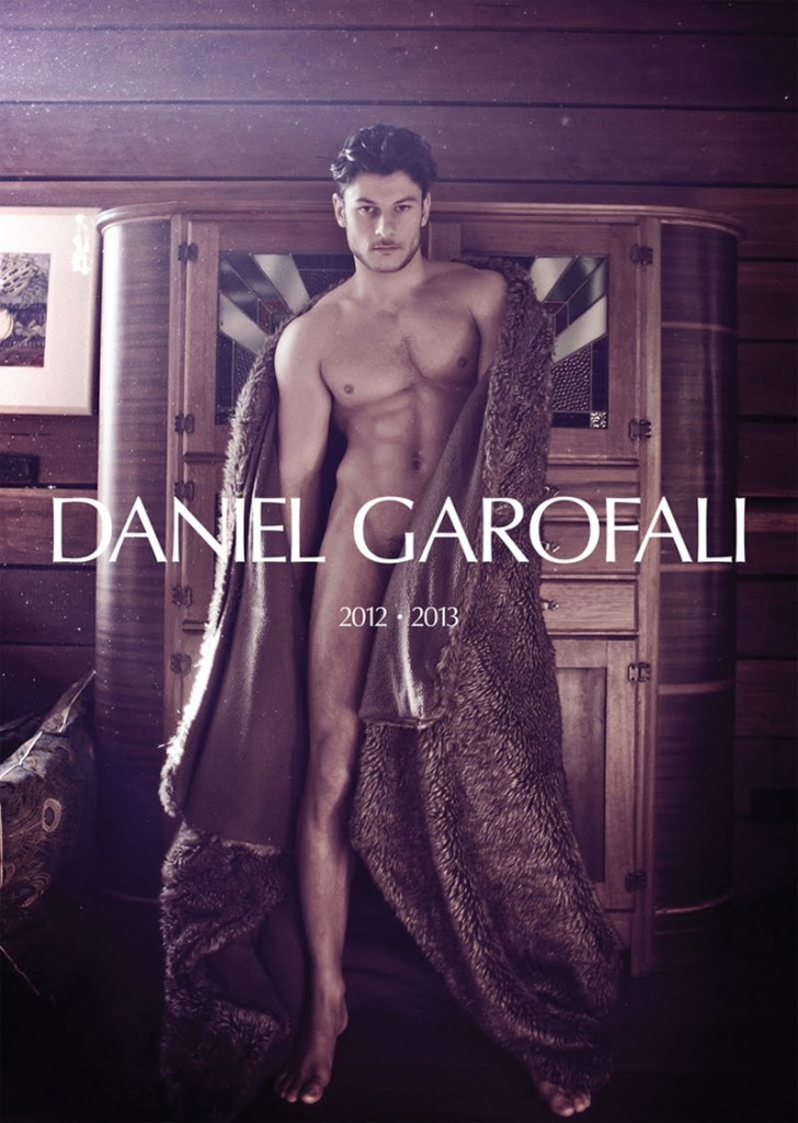Daniel Garofali 2012-2013 Calendar Cover