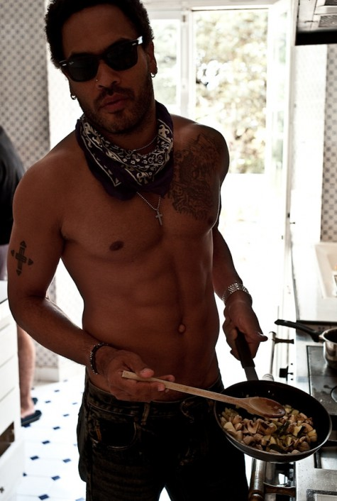 Man Crush of the Day Musician and actor Lenny Kravitz