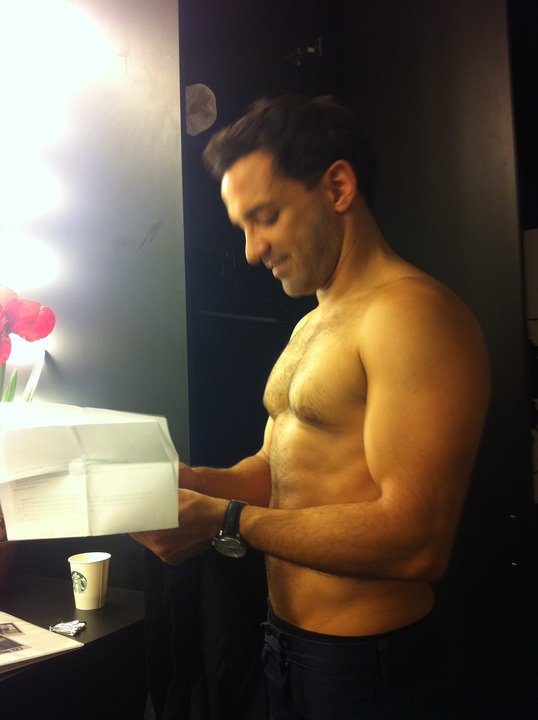 George Kostiopoulos | Fashion Police | Shirtless