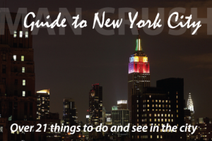 The Man Crush Blog's Guide to NYC