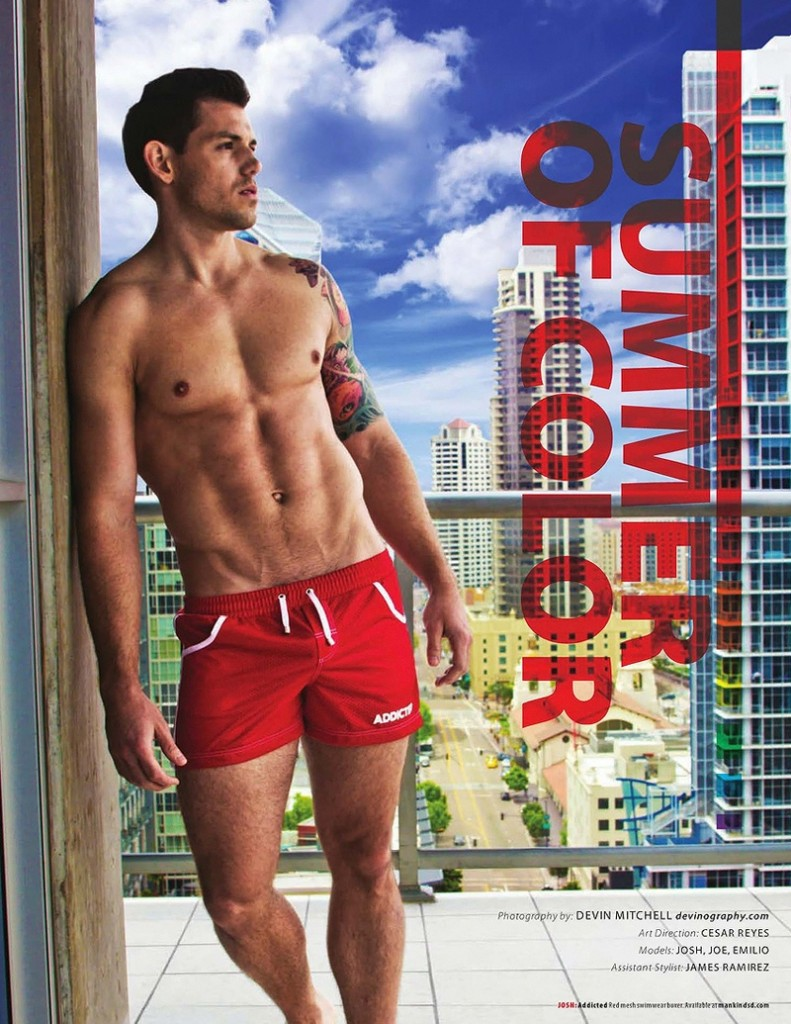 Devin Mitchell | Summer of Color | Rage Magazine