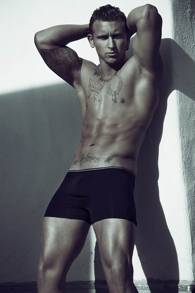 Justin Coale   Male Model