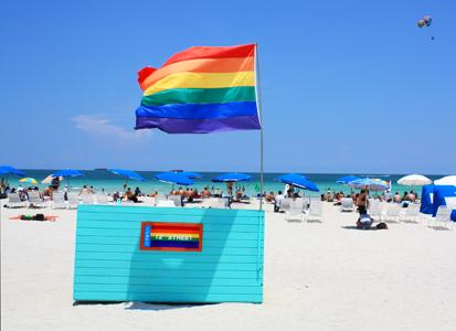 12th Street Beach in Miami, Florida