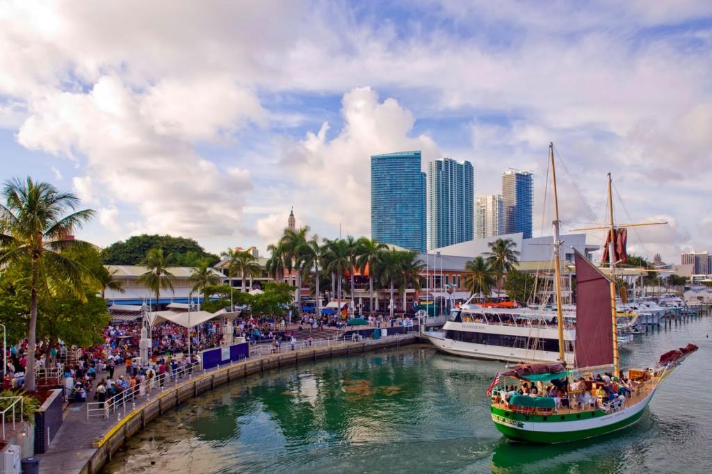 Bayside in Miami, Florida