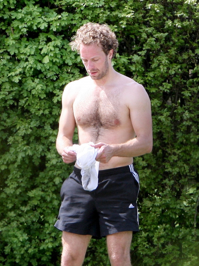 Chris Martin | Shirtless, London