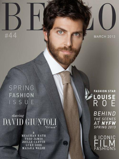 David Giuntoli | Ph: Aleksander Tomovic, Bello Men