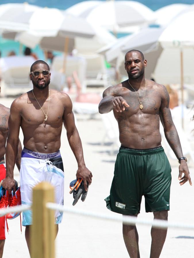 LeBron James, Dwayne Wade | Miami, 2013