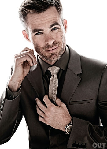 Chris Pine | Ph: Nino Muñoz, Out Magazine