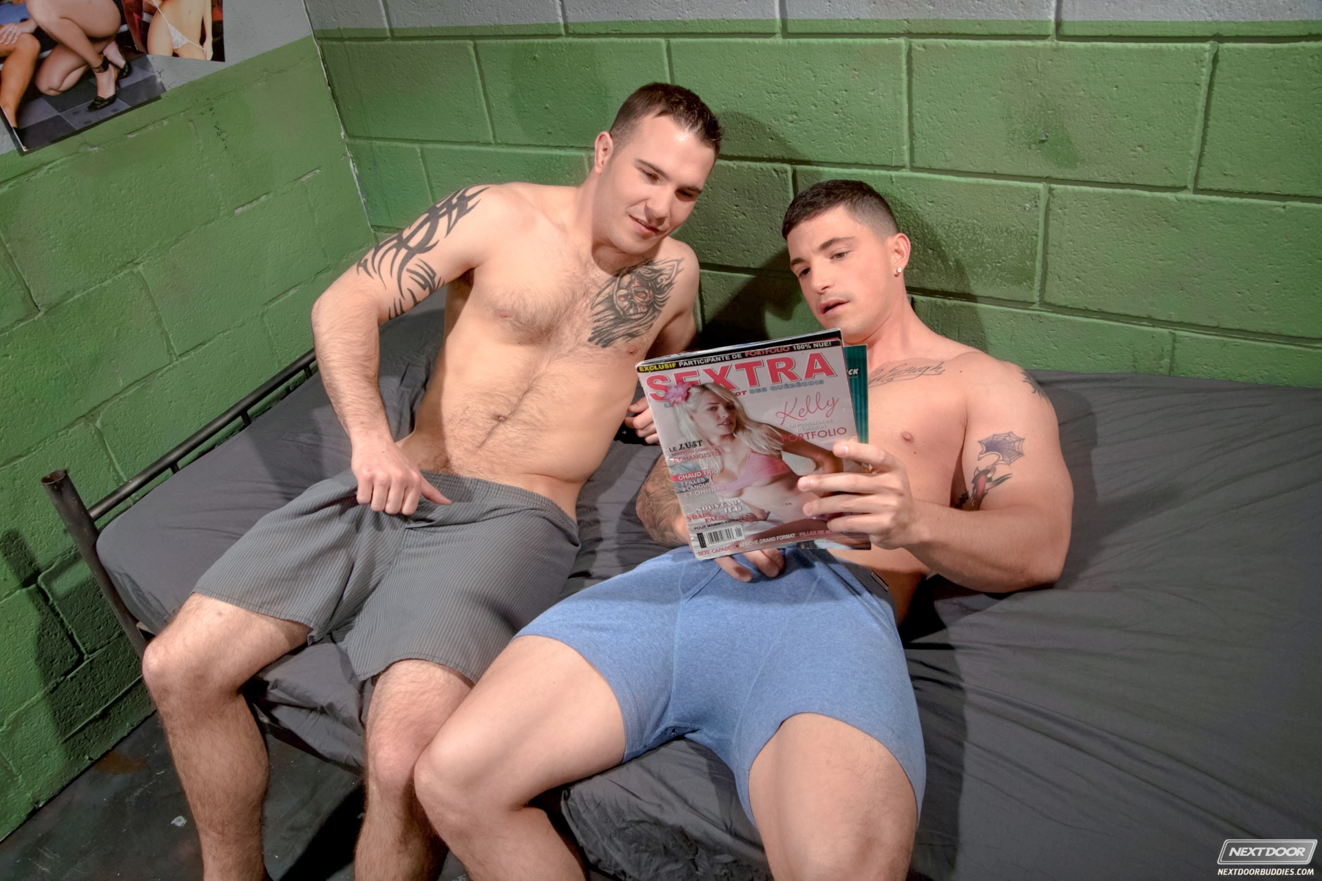 Straight guys jerking each other gay that039s 3