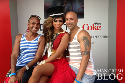 Me, Shangela and Justin at Pier Dance.