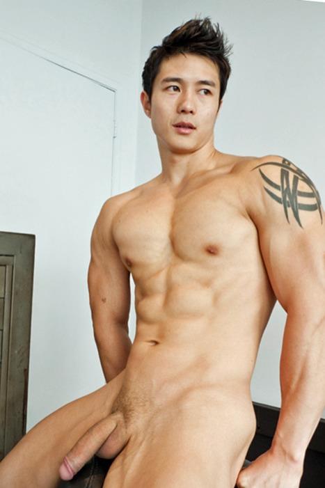 Hung asian men naked.