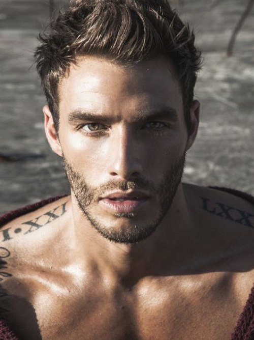 Micah Truitt   Male Model