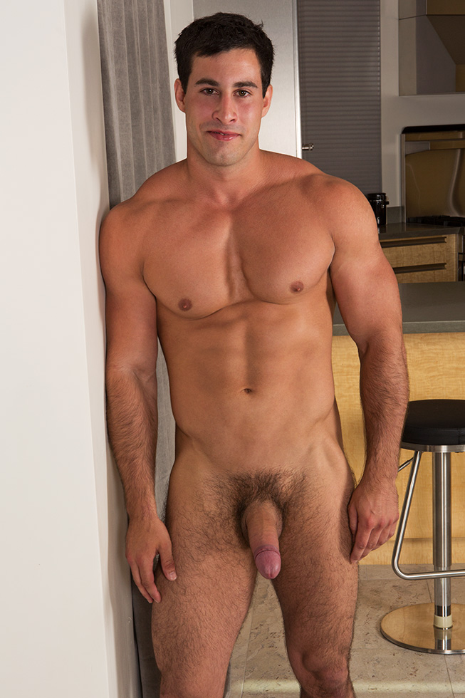 Sexy tall guy troy wants to try his brand new sex doll 5