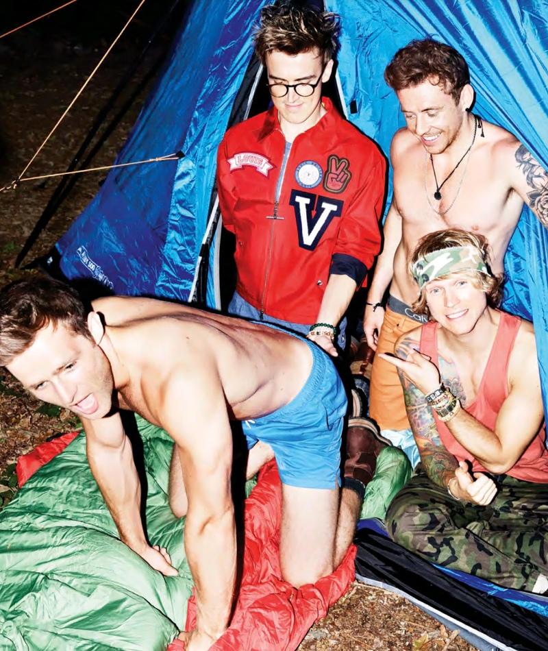 McFly |  Attitude Magazine, October 2013
