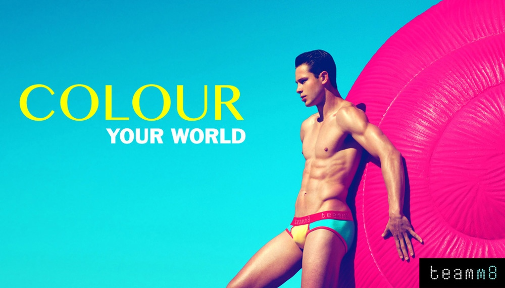 Colour Your World | teamm8