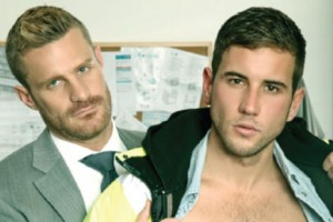 """Porn Crush of the Day: Danny Broughton and Landon Conrad in """"On Site"""""""