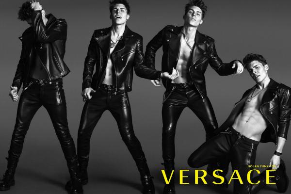 Nolan Funk | Versace S/S 2014