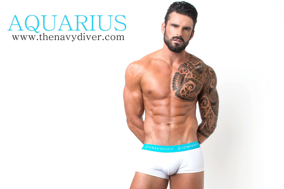 Stuart Reardon | Aquarius, The Navy Diver