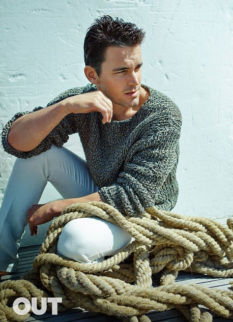 Matt Bomer | Ph: Kai Z. Feng, Out Magazine
