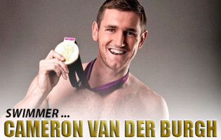 Man Crush of the Day: Swimmer Cameron van der Burgh