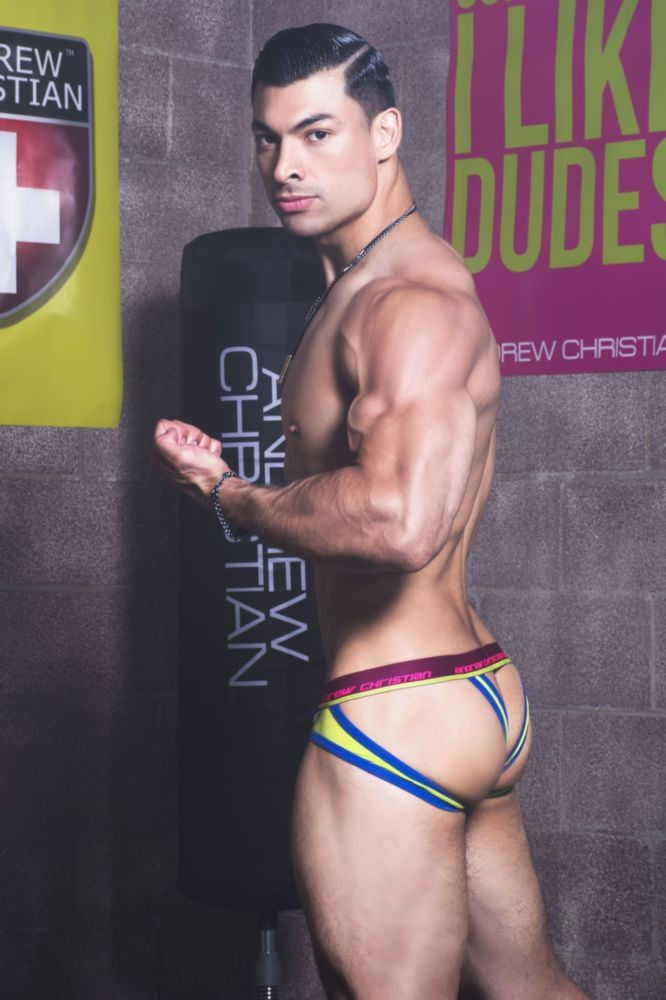 """Jocks in Jocks"" from Andrew Christian"