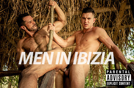 "Paddy O'Brian, Denis Vega | ""Men In Ibizia,"" Men.com"
