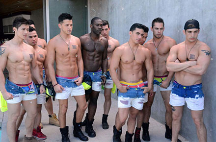 """""""Hot N' Bothered"""" from Andrew Christian"""