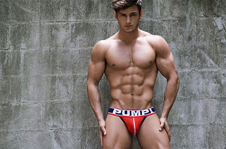 Bryant Wood | Ph: Rick Day, PUMP! Underwear
