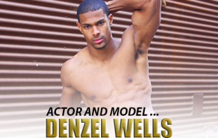 Man Crush of the Day: Model and Actor Denzel Wells