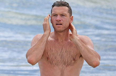 Sam Worthington in Hawaii