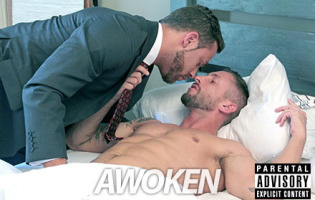 "Porn Crush of the Day: Logan Moore and Nick North in ""Awoken"""