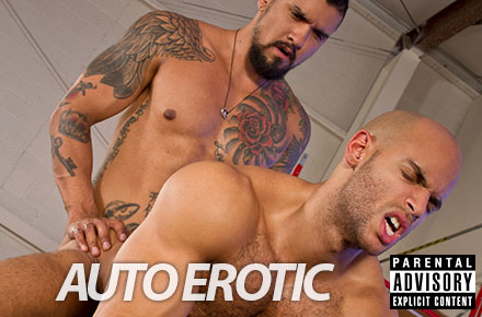 "Boomer Banks, Sean Zevran | ""Auto Erotic,"" Raging Stallion"