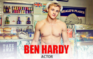 Man Crush of the Day: Actor Ben Hardy