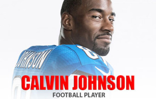 Man Crush of the Day: Football Player Calvin Johnson
