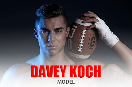 Davey Koch | Male Model