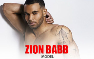 Man Crush of the Day: Model Zion Babb