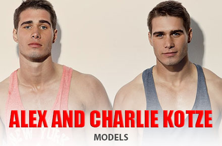 Alex and Charlie Kotze | Models