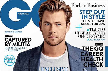 Chris Hemsworth | Ph: Harold David, GQ Australia