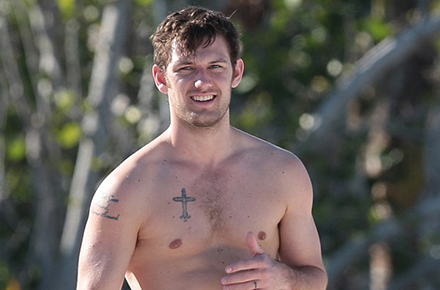 Alex Pettyfer in Miami Beach 2015