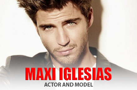 Maxi Iglesias | Actor and Model