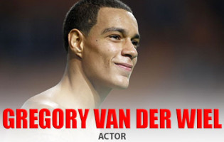 Soccer Player Gregory van der Wiel