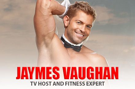 Jaymes Vaughan | TV Host and Fitness Expert