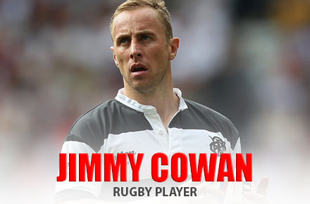Jimmy Cowan | Rugby Player