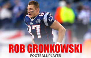 Football Player Rob Gronkowski