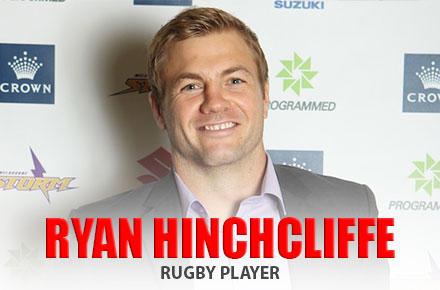 Ryan Hinchcliffe   Rugby Player