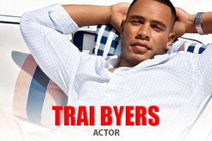 Actor Trai Byers